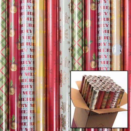 36 American Greetings Christmas Wrapping Paper Holiday Gift Wrap ...
