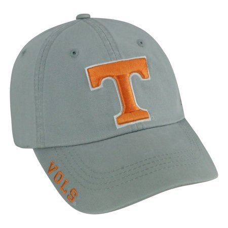 Tennessee Volunteers Forest Face (Tennessee Volunteers Light Grey Washed Hat - OSFA)