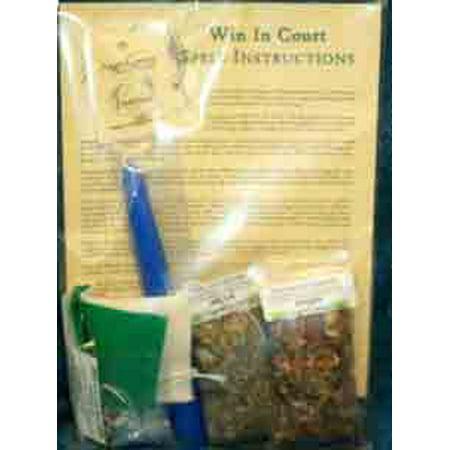 Party Games Accessories Halloween Séance Magic Spell Kit Win In Court Legal Battles - Court Street Halloween