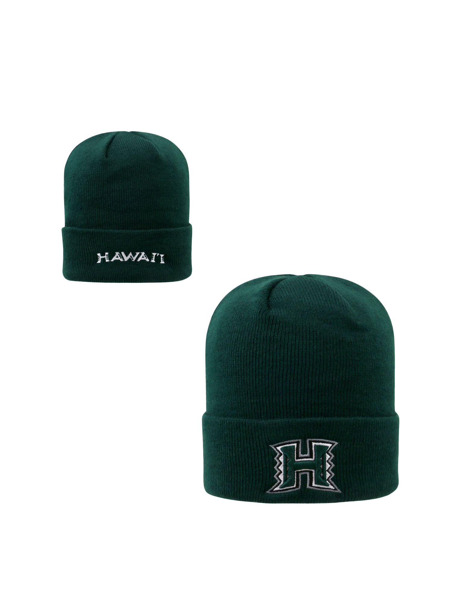 a7af19a732a Hawaii Rainbow Warriors Official NCAA Knit Youth Tow Cuffed Beanie Stocking  Stretch Sock Hat Cap by Top of the World 096742 - Walmart.com