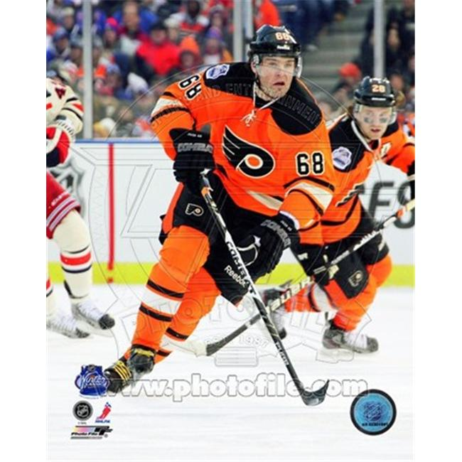 Photofile PFSAAOK13801 Jaromir Jagr 2012 NHL Winter Classic Action Poster by Unknown -8. 00 x 10. 00