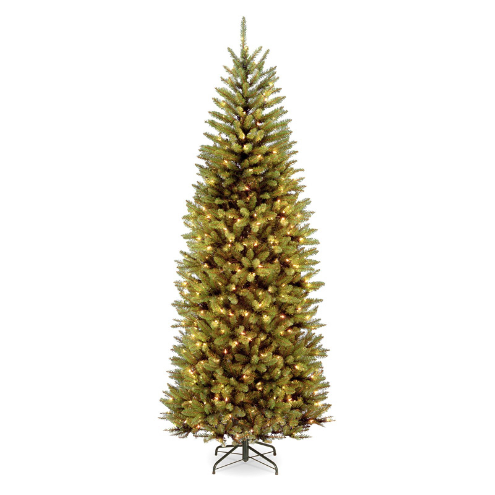 7.5' PowerConnect Kingswood Fir Slim Tree with Dual Color LED Lights