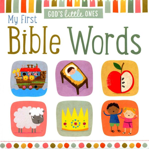 My First Bible Words (Board Book)