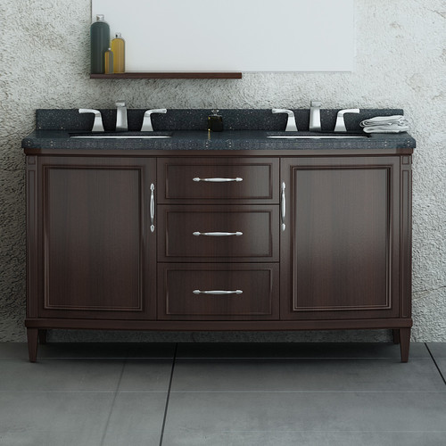 Ove Decors Rose 60'' Double Bathroom Vanity Set