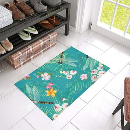 MKHERT Dragonflies Doormat Rug Home Decor Floor Mat Bath Mat 23.6x15.7 inch