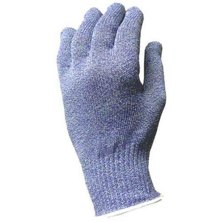 Tucker Safety Products No 94454 Wire Free Colored Cut Resistant Glove   Blue