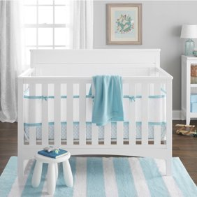 BreathableBaby 4 Piece Deluxe Breathable Embossed Cri