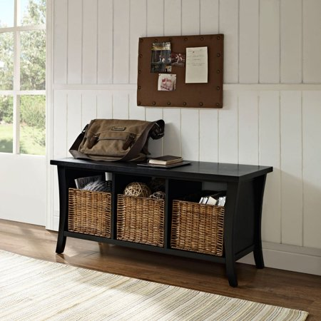 Phenomenal Crosley Furniture Wallis Entryway Storage Bench Beatyapartments Chair Design Images Beatyapartmentscom