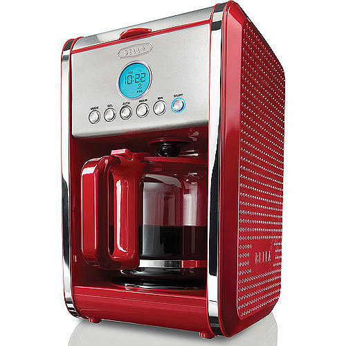 BELLA Bella Dots Programmable 12 Cup Coffee Maker