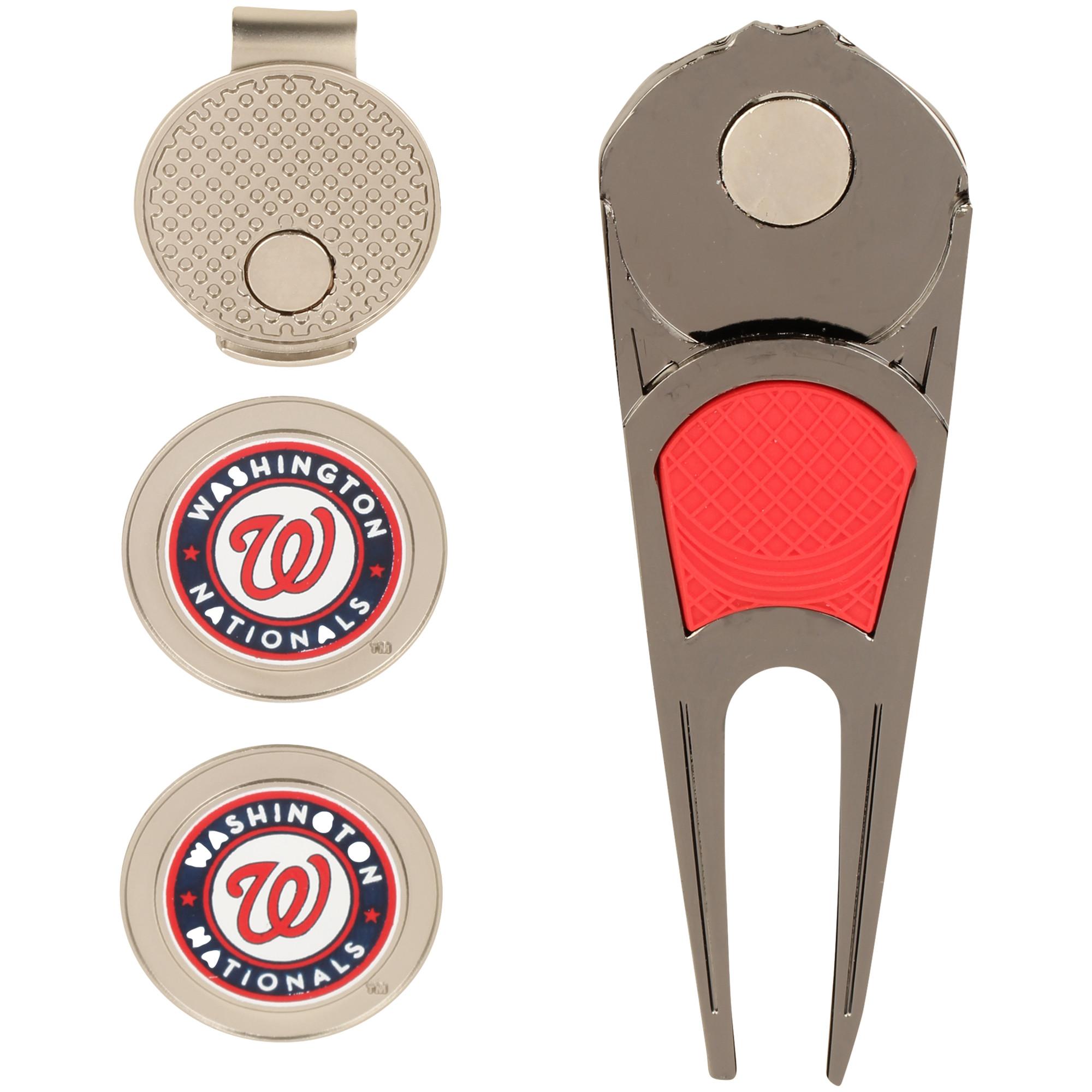 Washington Nationals WinCraft Ball Marker, Hat Clip & Divot Repair Tool Set - No Size