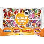 Wrigley's Grab Bag Halloween Candy Mix, 92 count, 24.9 oz