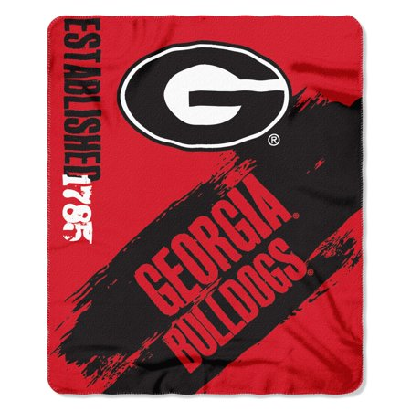 - Georgia Bulldogs Painted Fleece Throw