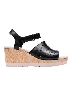 90c982ae06400 Product Image Women's Clarks Cammy Glory Wedge Sandal