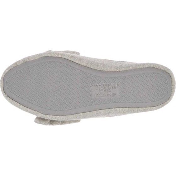 dd99077a1bf Nine West - Women s Nine West Loafer Scuff Slipper with Bow and Terry Sock  - Walmart.com