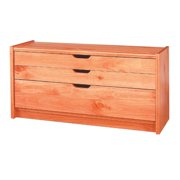 Drawer Chest for Bedroom Heirloom Pine Document Drawer Organizer 16.5 Inch