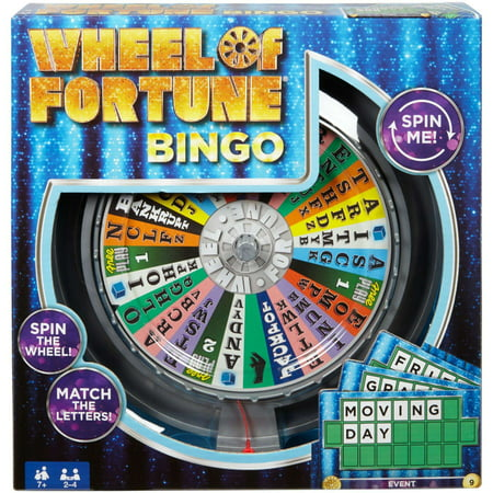 Wheel Of Fortune Bingo Game - Fitness Bingo