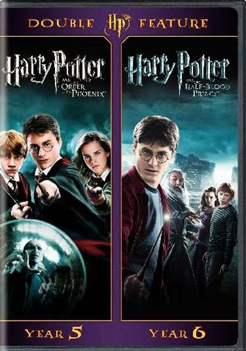 Harry Potter Double Feature (The Order Of The Phoenix   The Half-Blood Prince) (DVD) by Warner Brothers