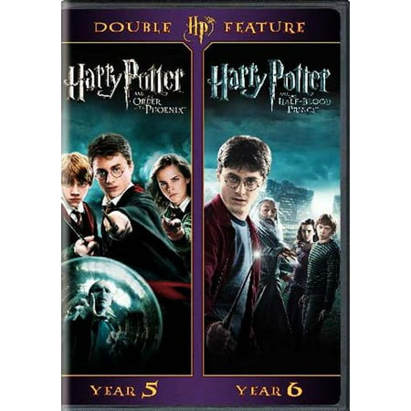 Harry Potter Double Feature (The Order Of The Phoenix / The Half-Blood Prince) (DVD) (Harry Potter Halloween 2017)