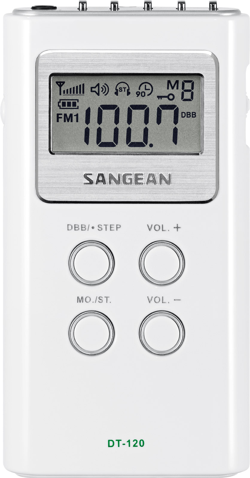 Sangean All in One Compact Digital Tuning Pocket Size Portable AM FM Radio by Sangean