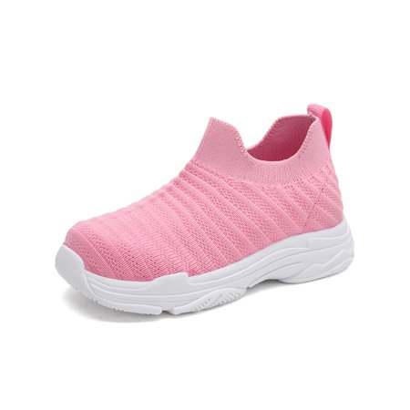 Toddler Shoes Girls Boys Sneakers Infant Baby Flyknit Sock First Walkers (Nike Air Max 1 Ultra Flyknit Black)
