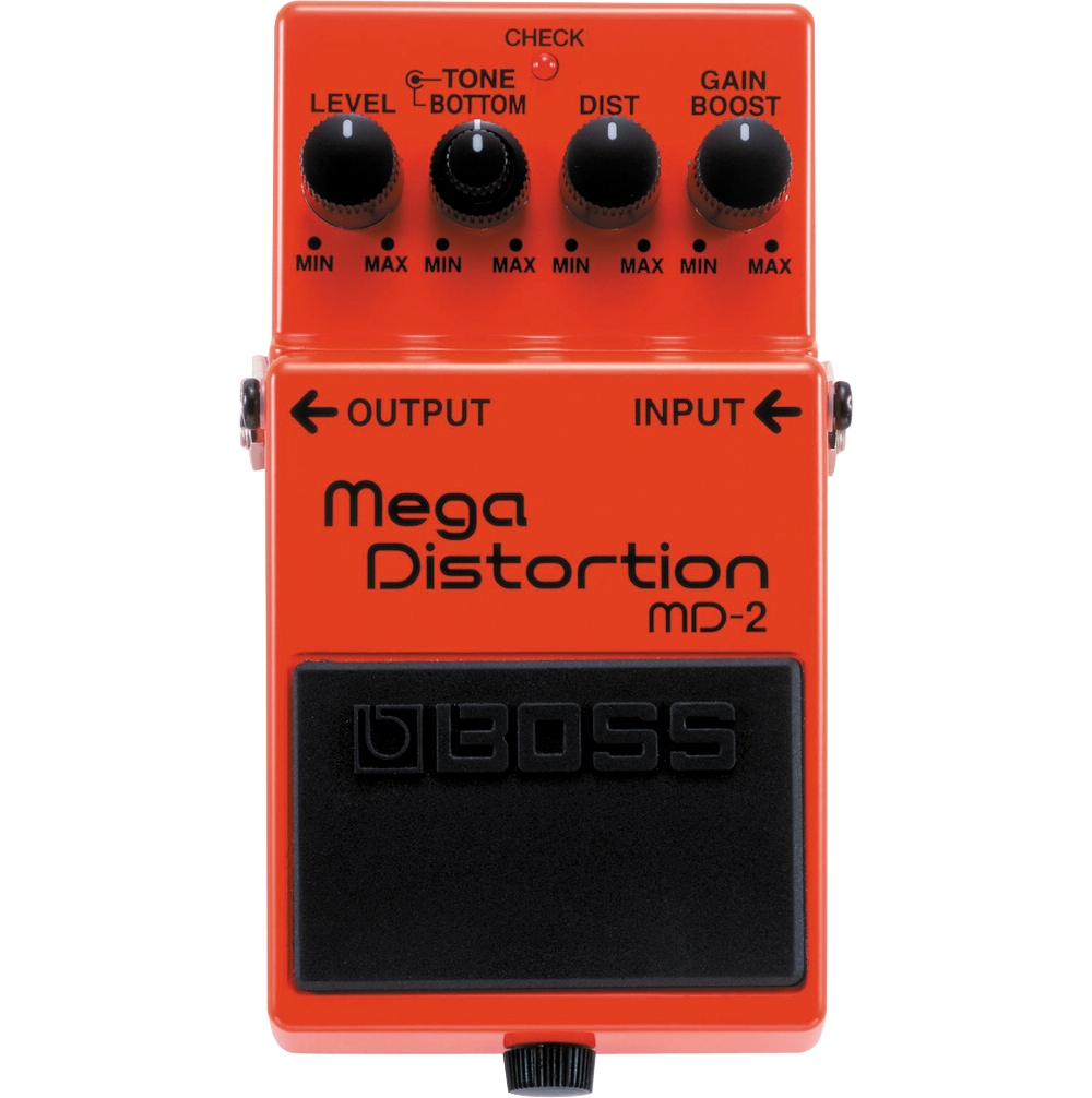 Boss MD-2 Mega Distortion Pedal by Boss