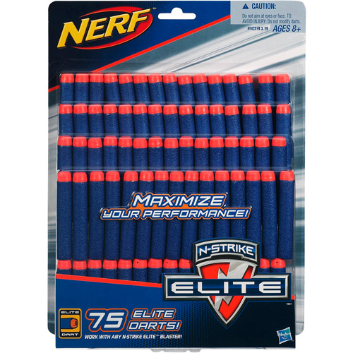 Nerf N-Strike Elite Dart Refill Pack, 75 Darts