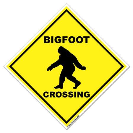 - Big Foot Crossing Sign - 22