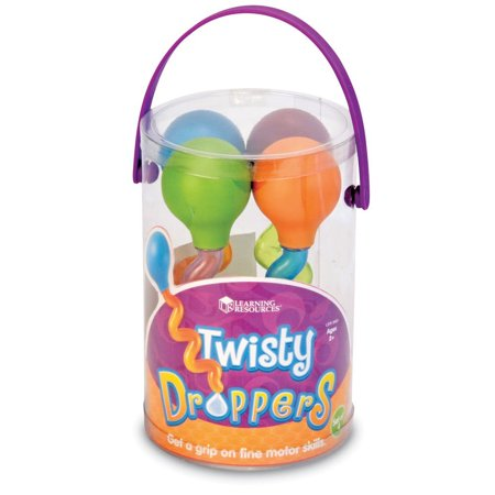Best Learning Resources Twisty Droppers, Set of 4, Ages 2+ deal