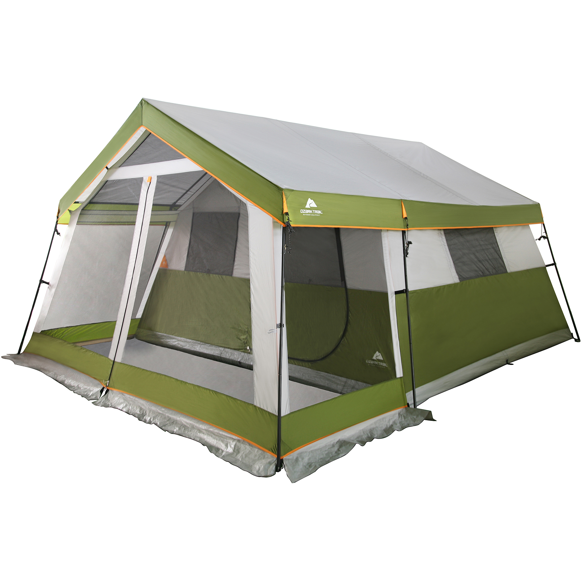 Ozark Trail 10 Person Family Cabin Tent With Screen Porch