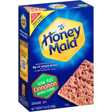 (3 Pack) Nabisco Honey Maid Low Fat Cinnamon Graham Crackers, 14.4 - Halloween Treats With Graham Crackers