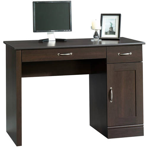 Sauder Parklane Collection Computer Desk, Cinnamon Cherry