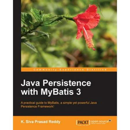 Java Persistence with MyBatis 3 - eBook