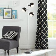 Better Homes and Gardens Black Track Tree Lamp, CFL Bulbs Included