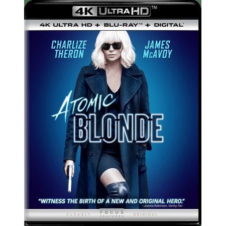 Atomic Blonde (4K Ultra HD + Blu-ray + Digital)](Blonde Movie Characters Halloween)