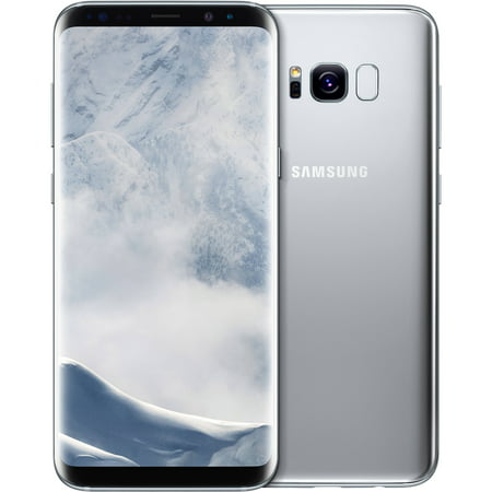 Samsung Galaxy S8+ G955F 64GB Unlocked GSM Phone w/ 12MP Camera - Artic Silver (Certified Refurbished)