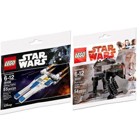 U Set Order Heavy One Rogue Wars Edition Last Jediamp; Polybag Lego Fighter Assault Wing First Walker Star Building WHID29EY