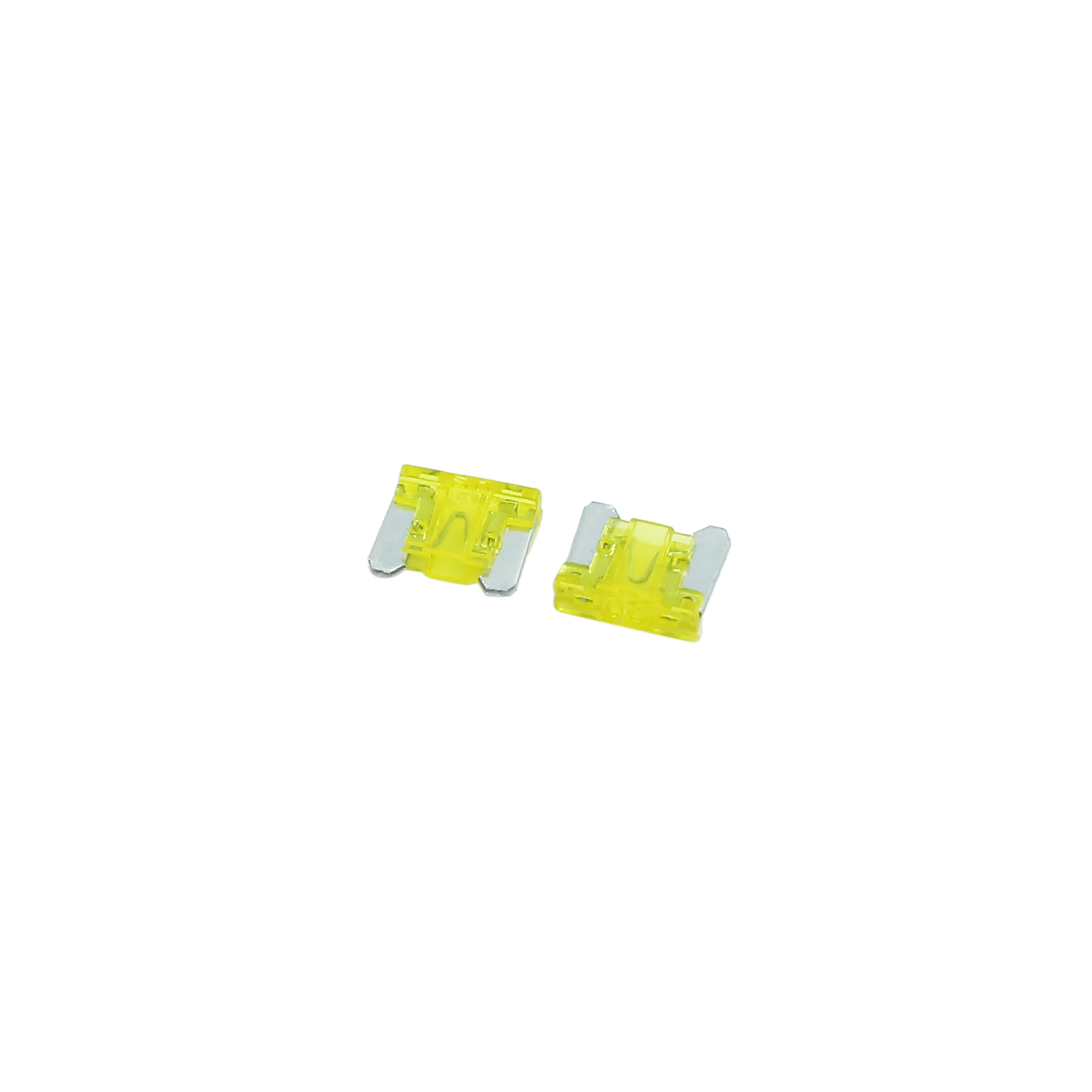 27pcs DC 5V-32V 20A Universal Yellow Car Fuse Replacement Blade Type ATM Fuses - image 1 of 2