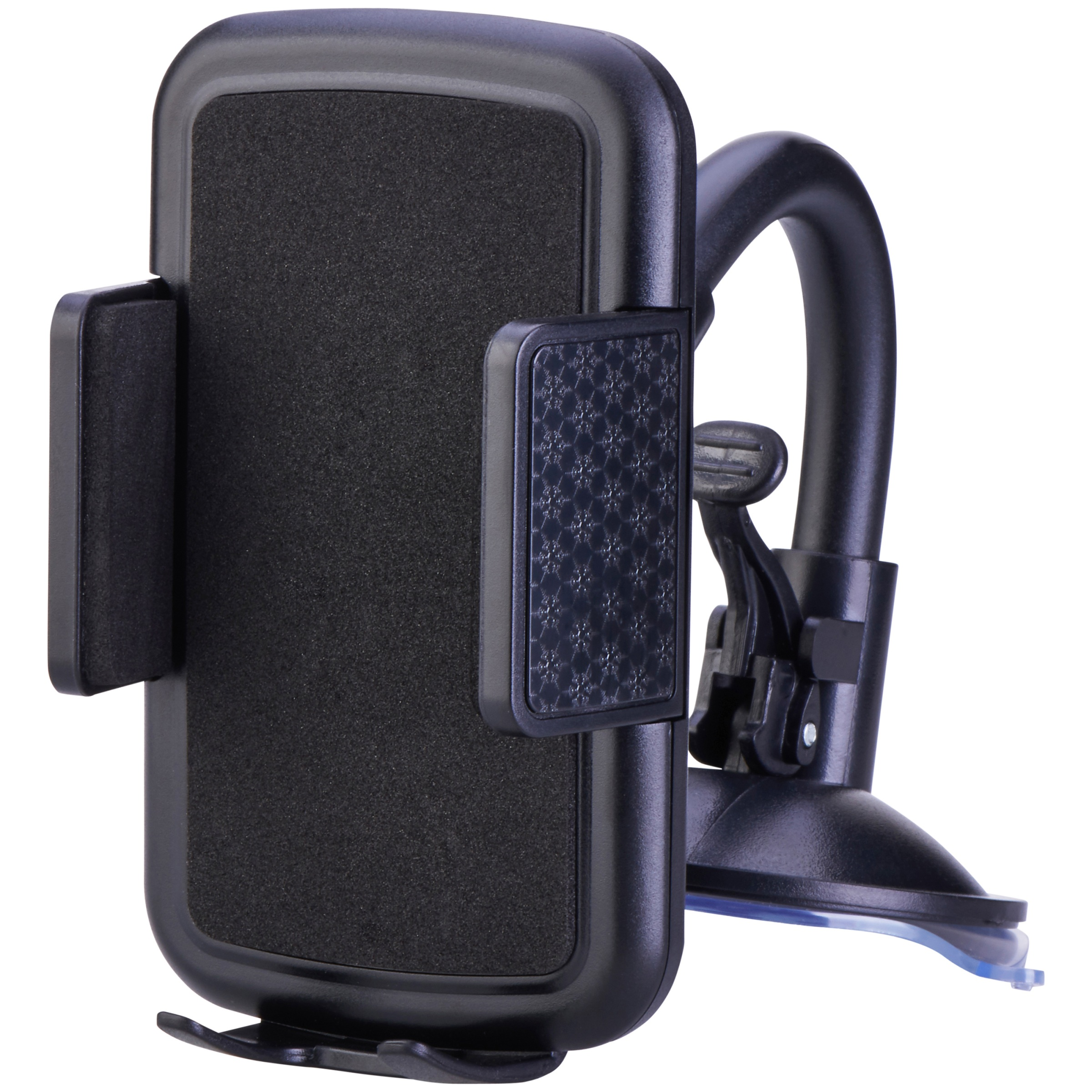 ONN Window or Dash Mount Mobile Device Holder, Sturdy Base for Secure Mount
