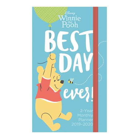 Day Dream Disney Winnie The Pooh 2-Year Monthly Pocket Planner - Wall Calendars