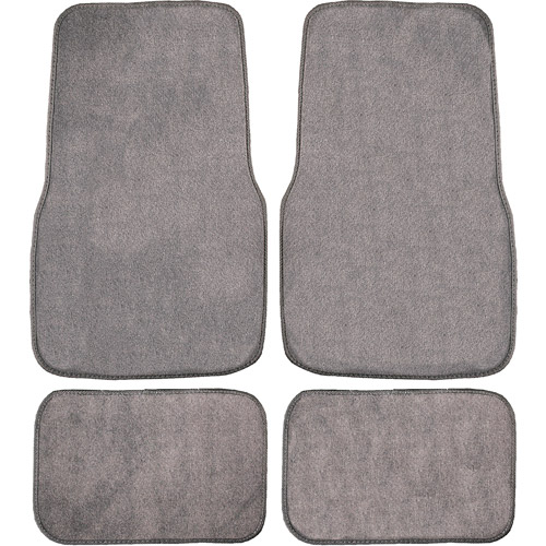 Remington Industries 4pc Basic Carpet, Gray