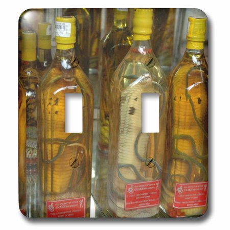 3dRose Vietnam. Snake wine for sale in a Saigon store, Ho Chi Minh City - Double Toggle Switch (Lincoln City Outlet Stores)