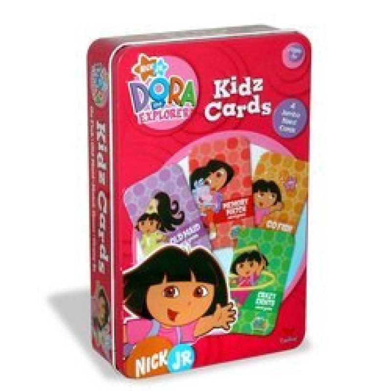 Dora The Explorer Kidz Card Games by