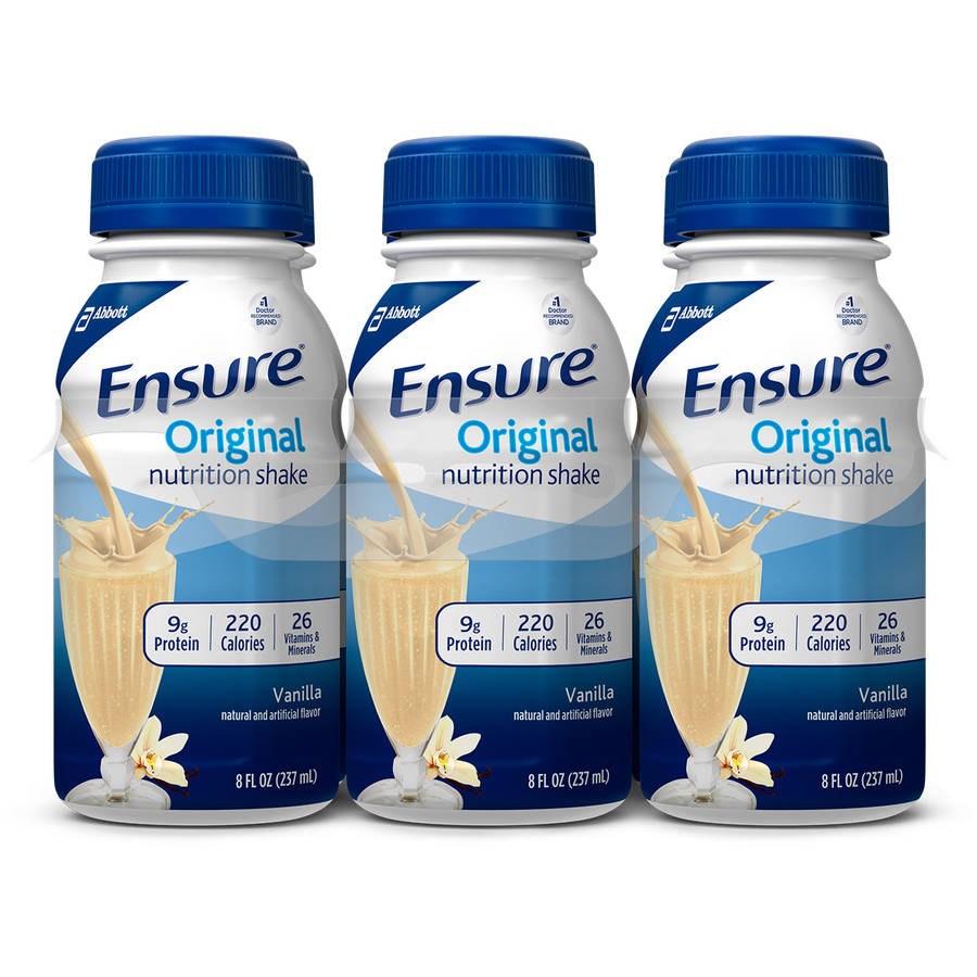 Ensure Original Nutrition Shake, Vanilla, 8 fl oz (Pack of 6)