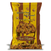 Just Poppin Gourmet Caramel & Cheese Popcorn Blended