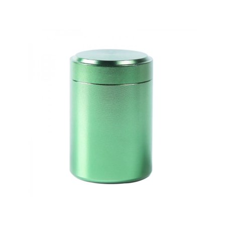 Aluminum Jars - MarinaVida Herb Container Airtight Smell Proof Aluminum Stash Jar Tea Coffee Storage Cans Kitchen