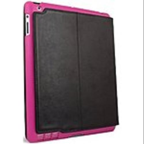 ifrogz IPAD2-SUM-PNK Carrying Case (Folio) for iPad - Black, Pink - Scratch Resistant, Dust Proof, Impact Resistance - Polyurethane, Polycarbonate
