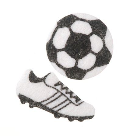 Felt Stickers Soccer 44Pc - Soccer Stickers