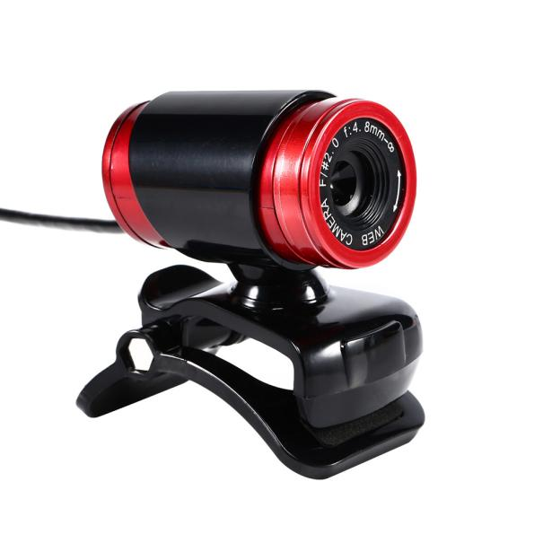 New Fashion USB 50 Megapixel HD Camera Web Cam 360° MIC Clip-on for Computer Laptop PC