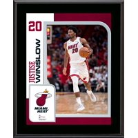 """Justise Winslow Miami Heat 10.5"""" x 13"""" Sublimated Player Plaque"""