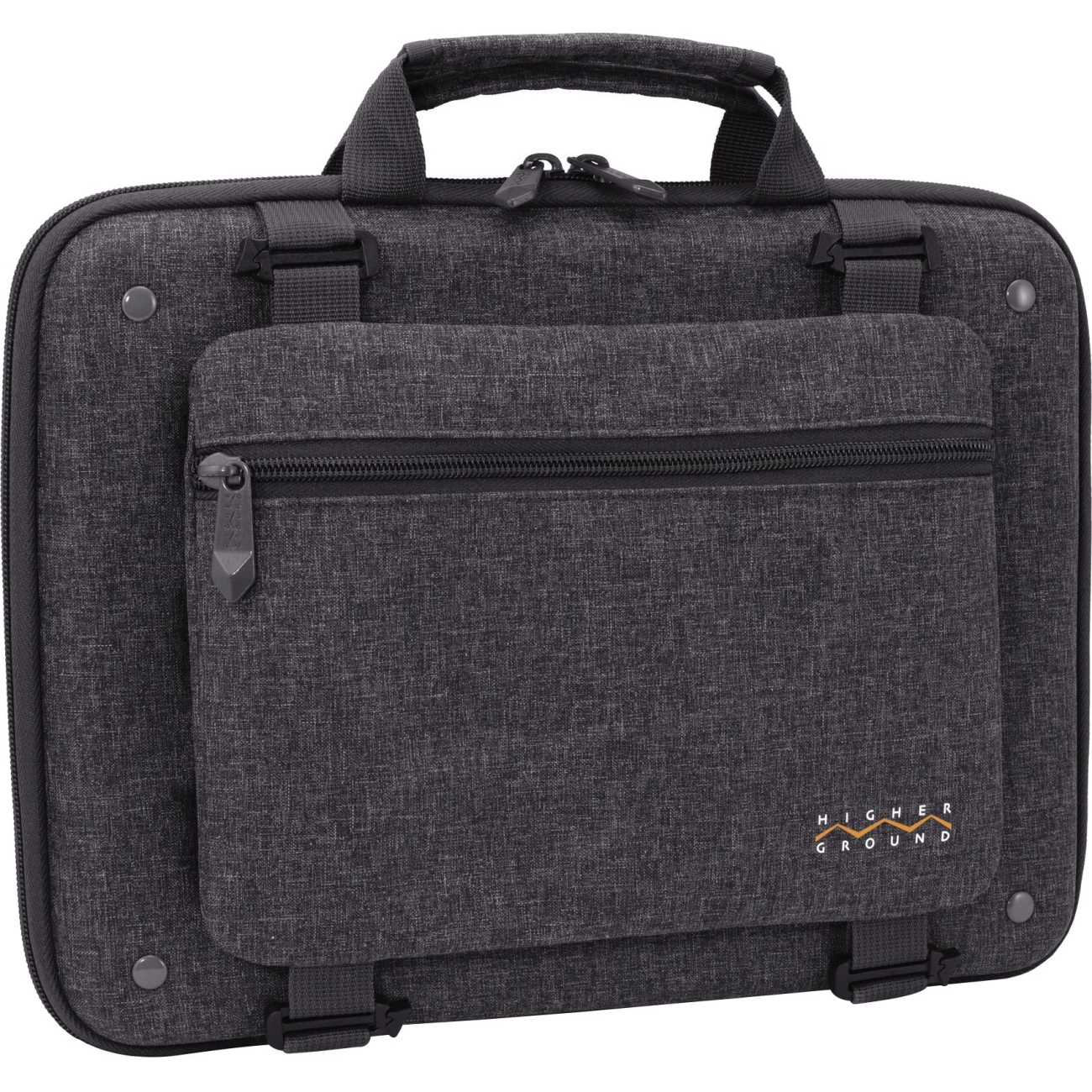 "Higher Ground Shuttle 3.0 Carrying Case for 14"" Notebook - Gray (stl3-0-14gry)"